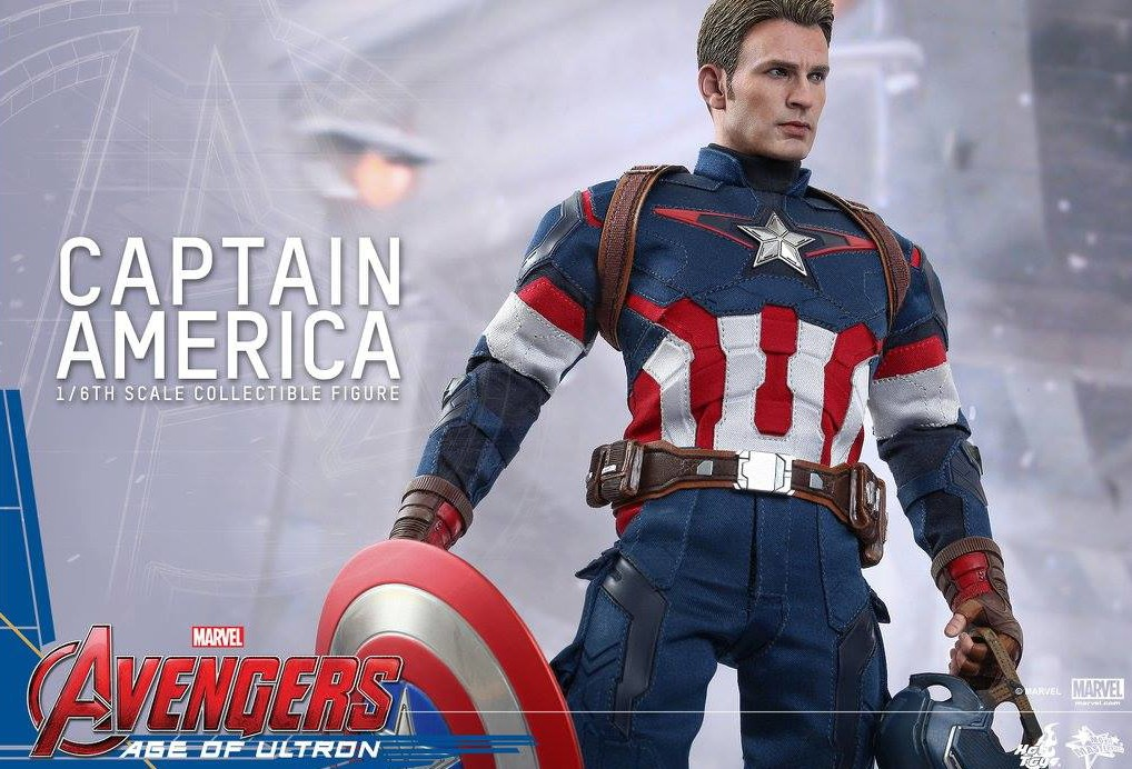 Hot Toys Age of Ultron Captain America Up for Order