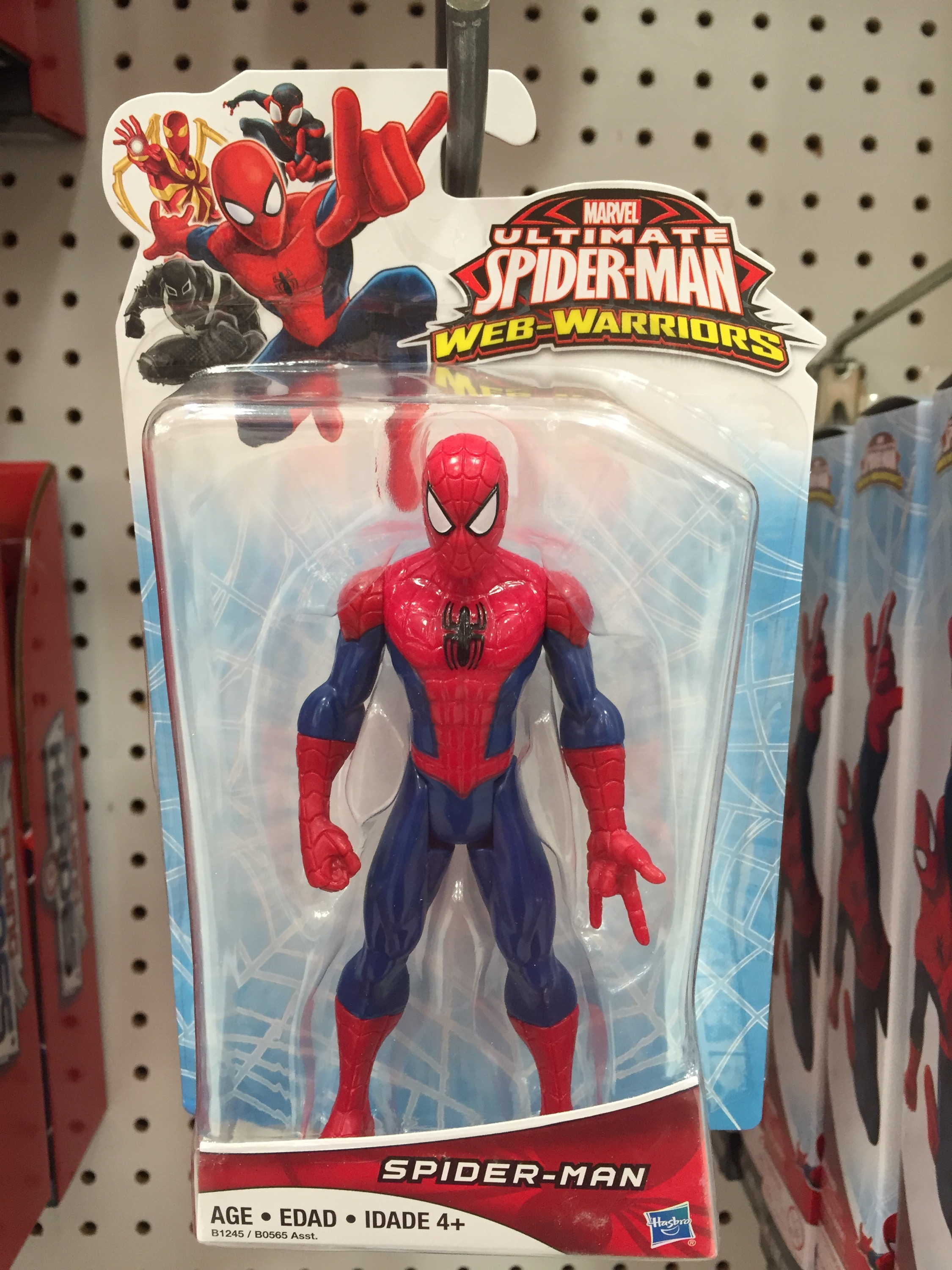 Ultimate Spider-Man Web Warriors Figures Released ...