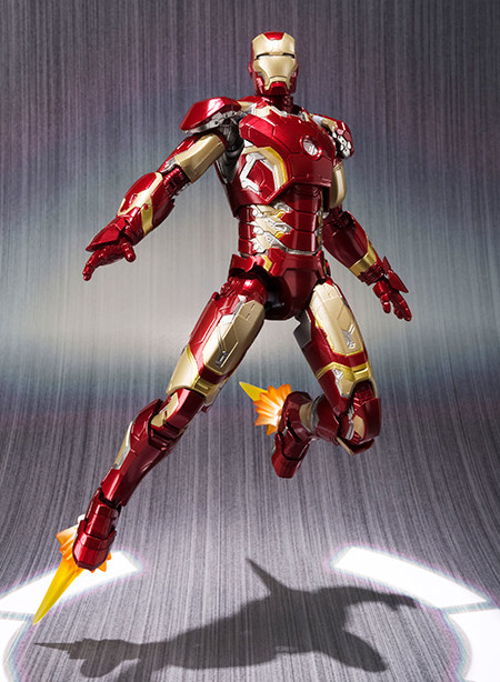 Iron Man Mark 43 S.H. Figuarts Bandai Action Figure 6 Inch