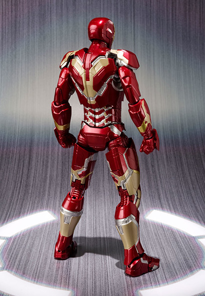 Mark 43 Iron Man Figuarts Bandai Figure April 2015