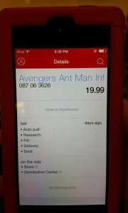 Marvel Legends Ant-Man Figure Confirmed Target DPCI