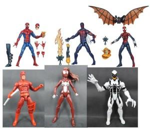 Marvel Legends Spider-Man 2015 Infinite Series 6 Inch Figures