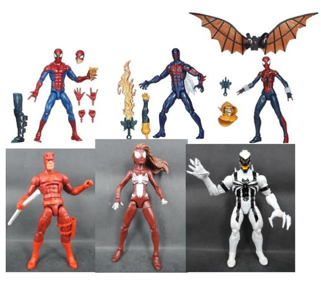 Spider man marvel legends 2015