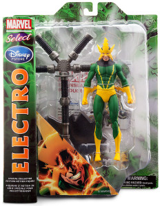 Marvel Select Electro Figure Packaged Single-Carded