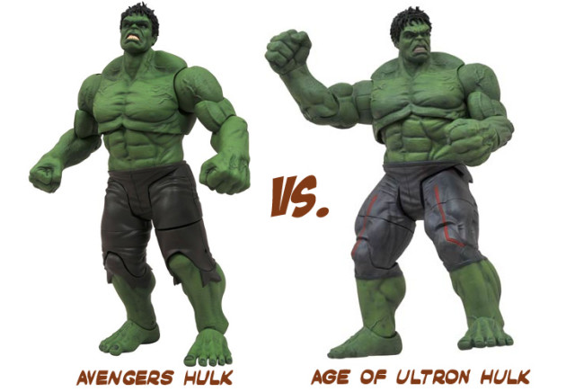 Marvel Diamond Select AVENGER INCREDIBLE HULK Age Ultron Collector Action Figure