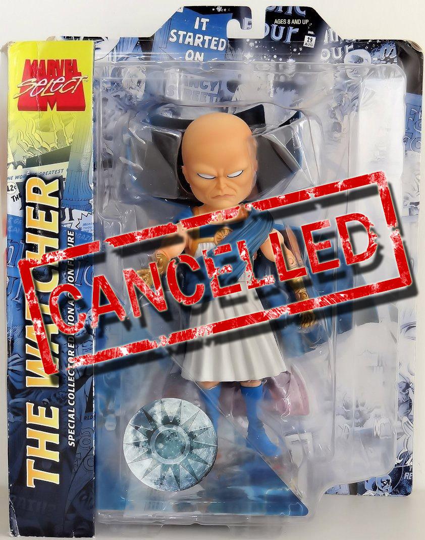 Action- & Spielfiguren Marvel Select Uatu The Watcher Action Figure Rare