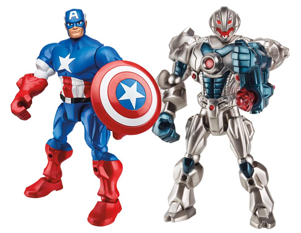 Marvel Super Hero Mashers Age