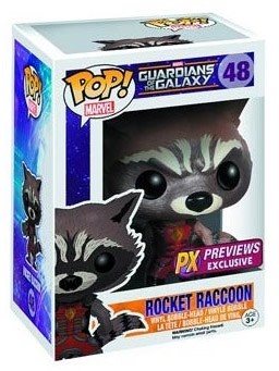 Ravagers Rocket Raccoon Funko POP Vinyls Figure Revealed