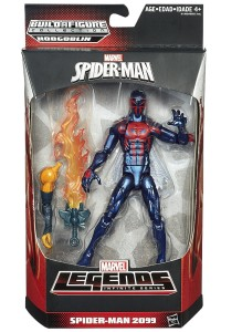 2015 Marvel Legends Spider-Man 2099 Figures Packaged
