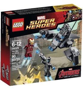 76029 Iron Man vs. Ultron LEGO Marvel Avengers Age of Ultron Set Box