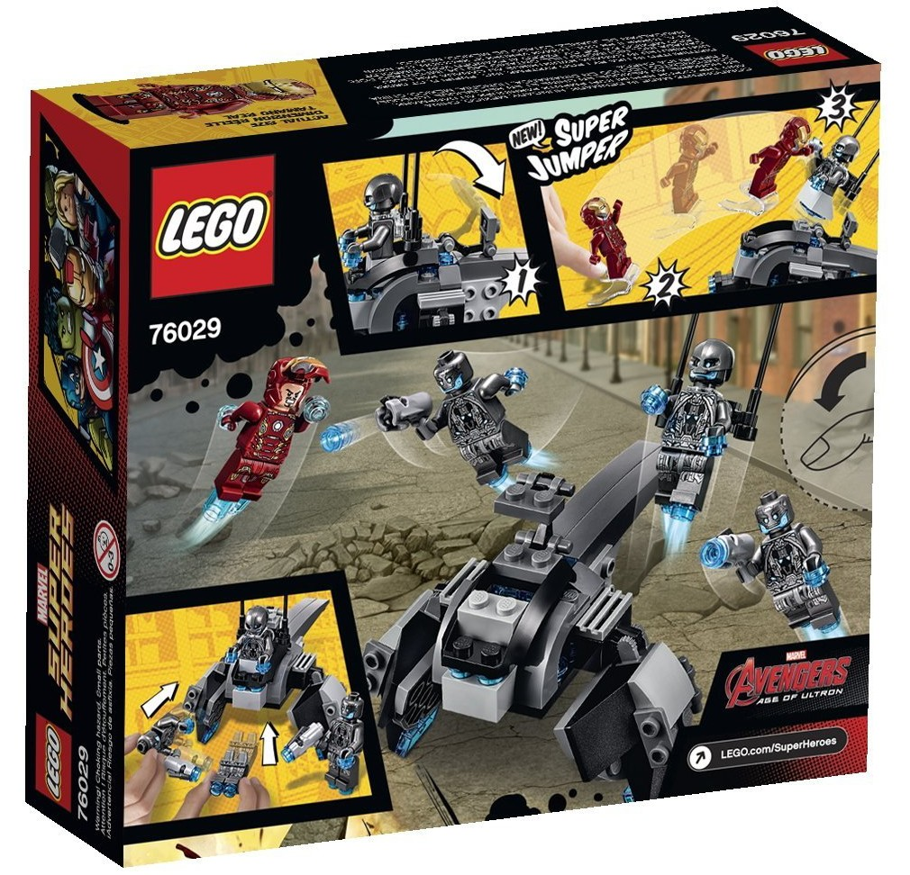 LEGO Marvel Iron Man Vs Ultron 76029 Released Early