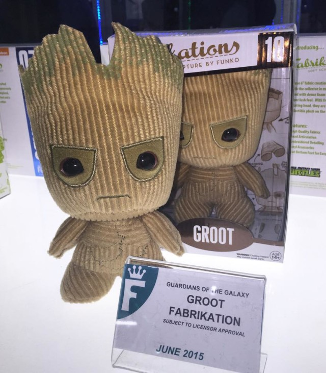 Funko Guardians of the Galaxy Groot Fabrikation