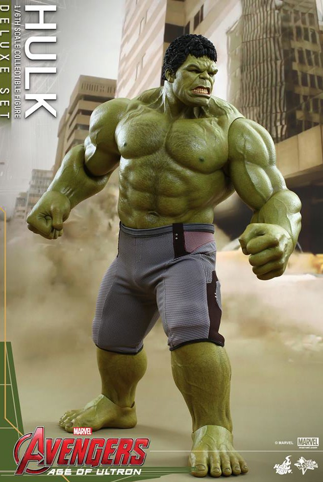 Avengers Age of Ultron Hot Toys Hulk Deluxe Set MMS287 ...