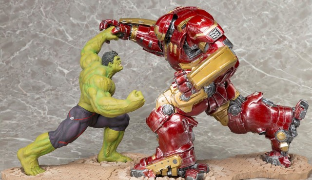 Kotobukiya Hulkbuster Iron Man & Hulk Statues Up for Order ...