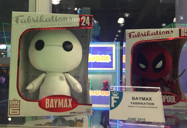 New York Toy Fair 2015 Funko Fabrikations Baymax Figure