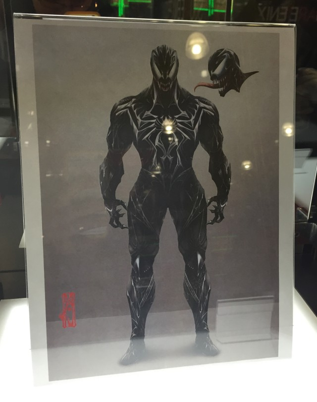 Play Arts Kai Venom Figure Concept Art Toy Fair 2015