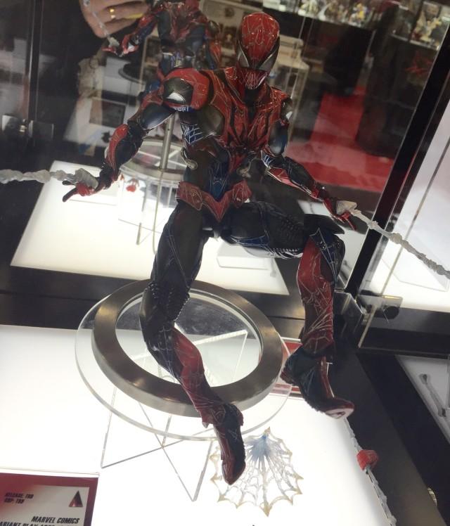 Spider-Man Play Arts Kai Figure Toy Fair 2015
