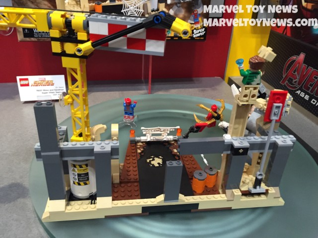 LEGO Sandman and Rhino Supervillain Team-Up Set Back NY Toy Fair 2015