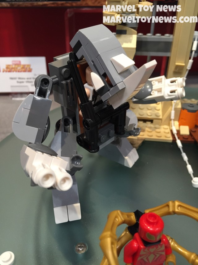 LEGO Marvel Rhino Mech Figure Summer 2015 76037