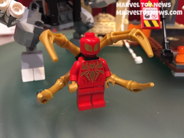 New York Toy Fair 2015 LEGO Iron Spider Minifigure