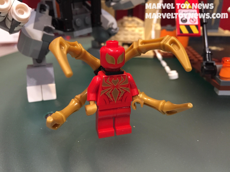 Как сделать своими руками лего человека паука