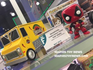 New York Toy Fair 2015 Funko Deadpool Chimichanga POP Rides Set