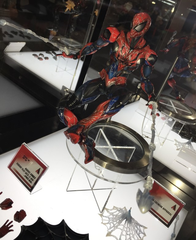 Play Arts Kai Spider-Man Figure New York Toy Fair 2015