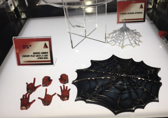 Marvel Play Arts Kai Spider-Man Accessories