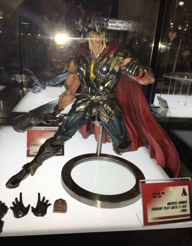 Marvel Play Arts Kai Thor Square-Enix New York Toy Fair 2015