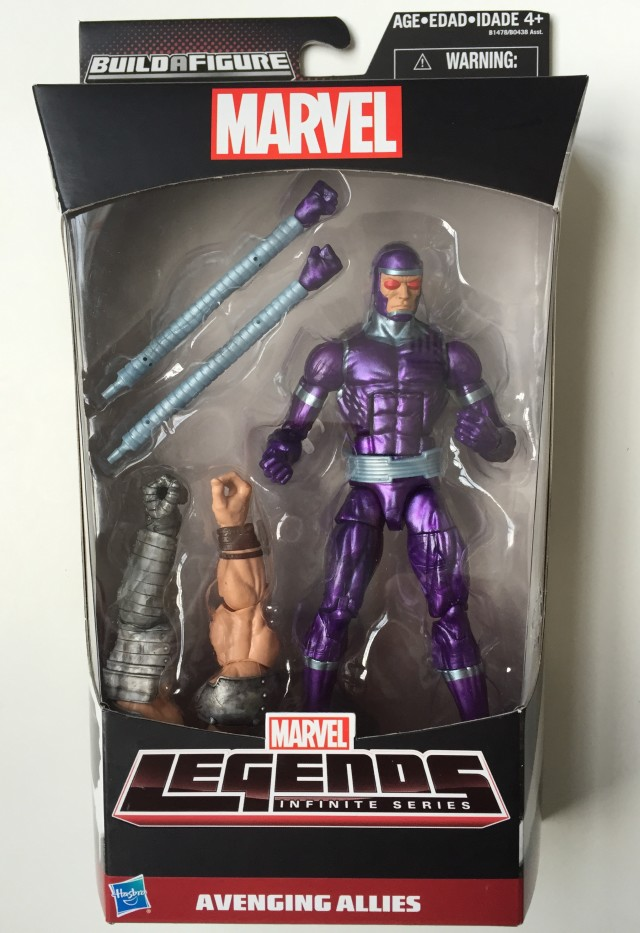 Avengers Marvel Legends Machine Man Figure Packaged