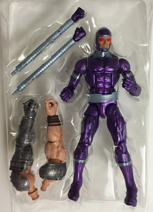 Marvel Legends Avengers Wave 1 Machine Man with King Thor BAF Arms