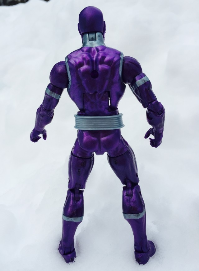 "Back of Marvel Legends 6"" Machine Man Action Figure"