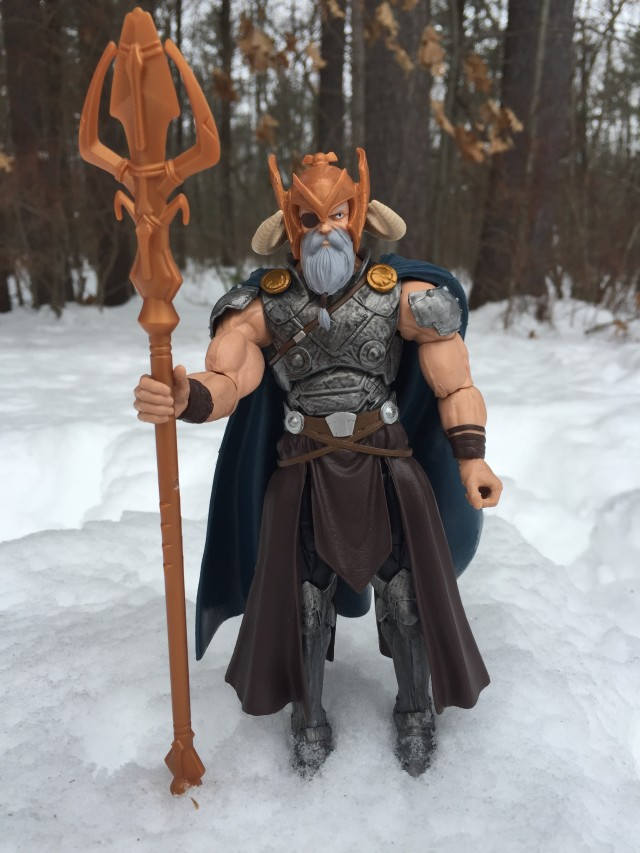Marvel Legends Odin Build-A-Figure Review