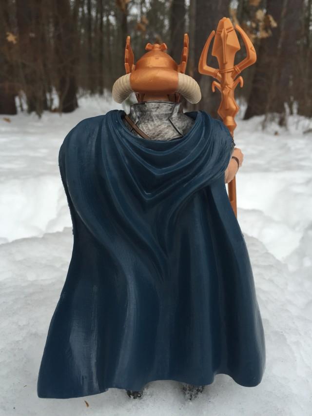 Back of Odin Marvel Legends 2015 Figure