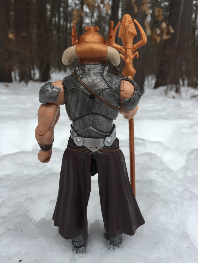 Hasbro 2015 Marvel Legends Odin Figure Back