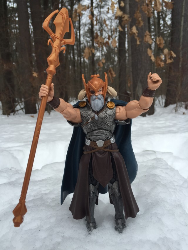 Avengers Marvel Legends Odin Action Figure with Staff