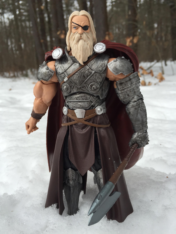 Marvel Legends BAF Allfather All Father Odin Pauldron Only Left Arm Marvel