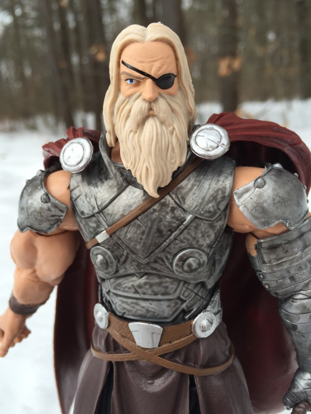 Marvel Legends King Thor Figure Close-Up