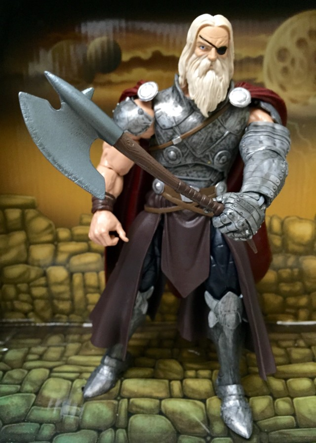 King Thor Marvel Legends Build-A-Figure Review