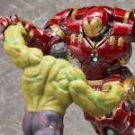 Kotobukiya Hulkbuster Iron Man & Hulk ARTFX+ Statues Revealed!