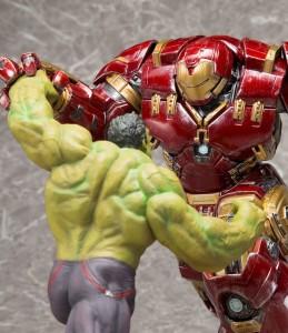 Kotobukiya Avengers Age of Ultron Hulkbuster Iron Man and Hulk Statues