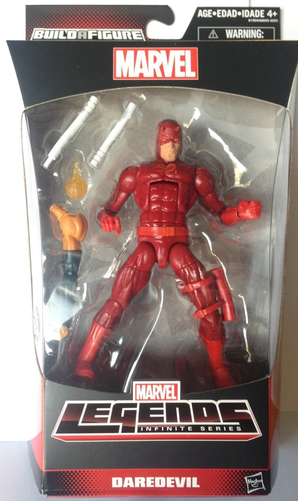 Marvel Legends Daredevil Figure Packaged