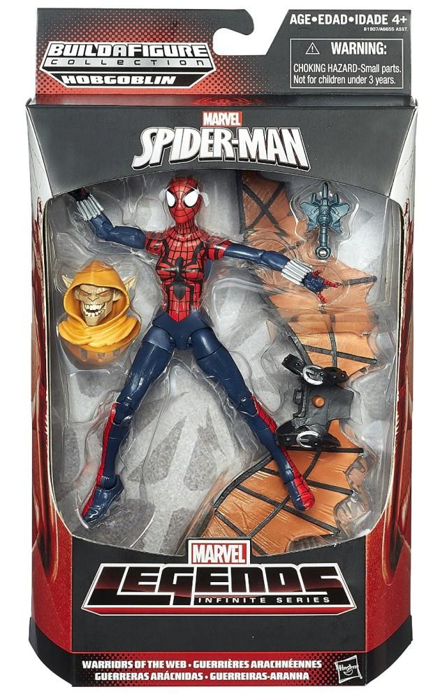 Marvel Legends Spider-Girl Figure Packaged