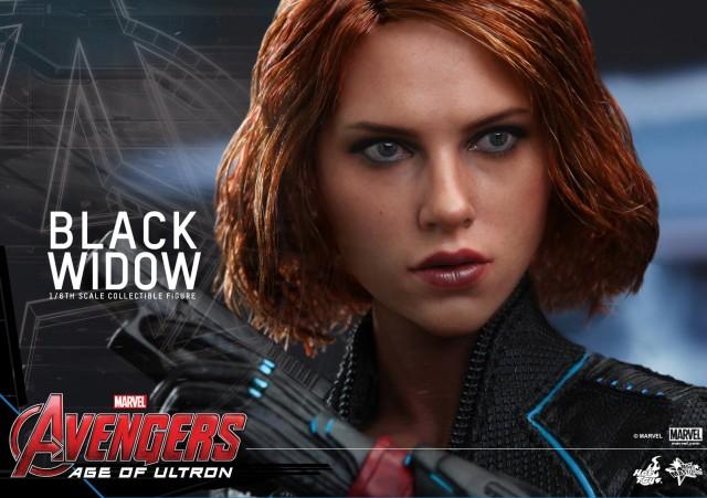 Avengers Age of Ultron Black Widow Hot Toys Head Sculpt