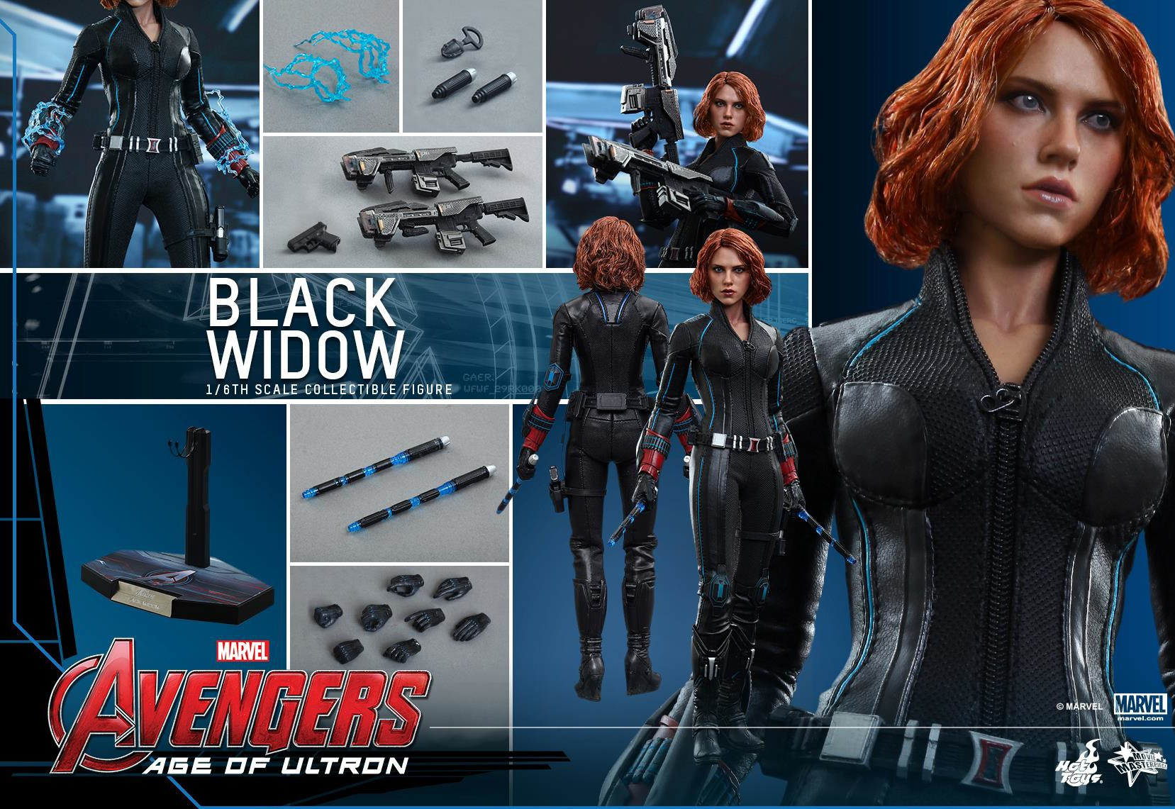 hot toys avengers age of ultron black widow up for order