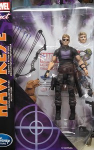 Avenging Hawkeye Marvel Select Figure Packaged with Pizza Dog