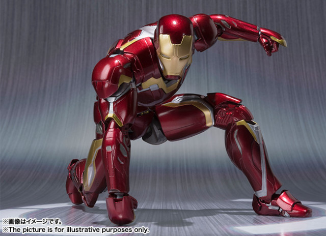 Bandai Iron Man Mark 45 SH Figuarts Figure