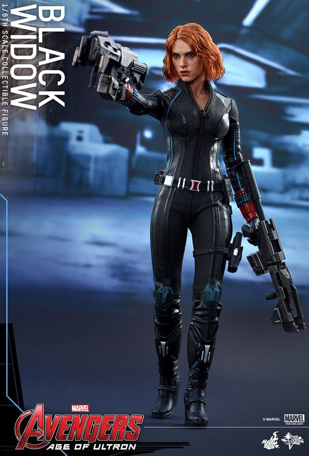 Black Widow Age of Ultron Hot Toys Figure MMS 288 With Big Guns