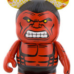 Marvel Vinylmation Red Hulk & Red She-Hulk Figures!