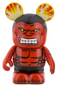 Disney Vinylmation Red Hulk Figure